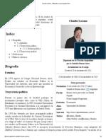 Claudio Lozano - Wikipedia, La Enciclopedia Libre