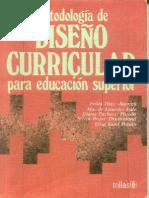 LIBRO Metodología de Diseño Curricular