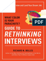 Excerpt From What Color is Your Parachute? Guide to Rethinking Interviews by Richard N. Bolles
