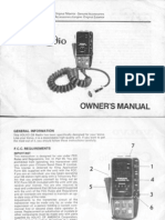 283782-Manual CB Radio - Owner's Manual