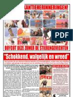 Bullfight Leaflet  -  Dutch