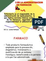 Cuidados en La Administracion de Farmacos
