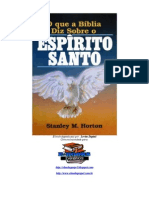 O Que a Bíblia Diz Sobre o Espírito Santo - Stanley M. Horton