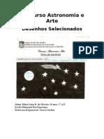 Concurso Astronomia e Arte Desenhos Selecionados