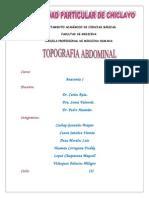 Topografia Abdominal