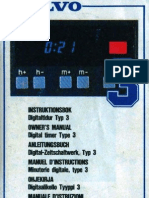 Manual Timer Type 3 'Turbo Timer'