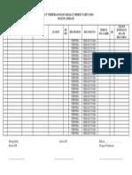 Format Verifikasi Masyarakat Miskin Tahun 2014