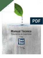 Manual Técnico _ Tratamentos de Superfícies _ 2012