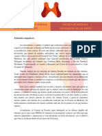 Documento Informativo Análisis Re-Acreditación