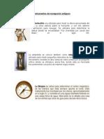 Instrumentos de Navegación Antiguos