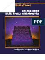 Timex Sinclair BASIC Primer With Graphics