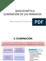 4 Farmacocinética eliminacion