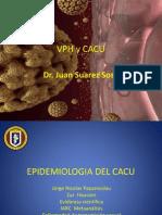 Dr. Juan Suarez Sosa Clase VPH