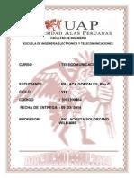 TRABAJO ACADEMICO TELECOMUNICACIONES III  RAY PILLACA  DUED AYACUCHO 2011200464.docx