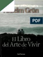 Grun Anselm - El Libro Del Arte de Vivir