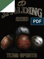 2013 Spalding Team Catalog
