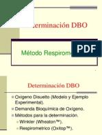 Determinación DBO