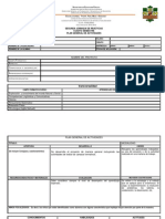 Formatos Para La Planeacion