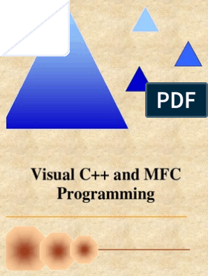 Visual C++ and MFC Programming 2nd | Human–Computer