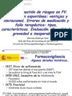 06-05-2011 15.00 Analisis y Gestion Notificacion Espontánea Causalidad Madurga