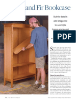 Cherry and Fir Bookcase