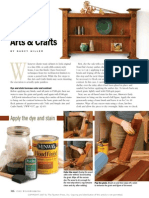 Create an Aged Arts-And-Crafts Finish