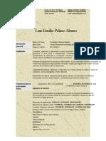 Curriculum Emilio Peláez
