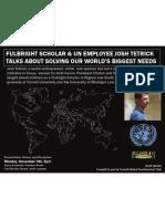 Fulbright Scholar & Un Employee Abroad? Thinking About Volunteering Josh