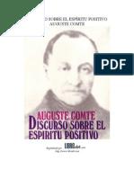 Aguste Comte - Discurso Sobre El Espíritu Positivo (Capítulo 1)