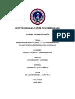 Informe de Investigacion Quinto Año b Contabilidad