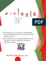 Dislexia Trastorno de Lectura