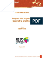 Manual de Geometria Analítica