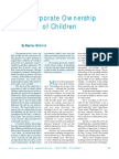 Corporate Ownership of Children