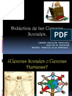 Didactica de Las Ciencias Sociales Prueba 1