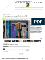 12 Cursos Gratuitos Para Profissionais de TI - Fotonotícia _ INFO