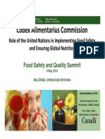 Presentation at Food Safety and Quality Summit 2014 - UAE