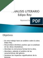 Analisis Literario Edipo Rey
