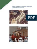VIERNES SANTO Y DOMINGO de RESURRECCIÓN. Falsas Tradiciones Catolicas. Por Alexander Gell (1)