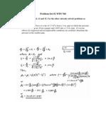 Problem Set #2 WPS 760