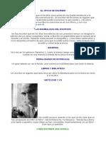 Abelardo Castillo Fragmentos Ser Escritor