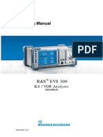 Evs300 Operating Manual