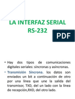 La Interfaz Serial Rs-232