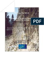 Evaluation of Oil and Gas Potential in the Deh Cho NWT