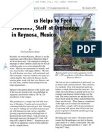 Aquaponics Helps to Feed Students, Staff at Orphanage in Reynosa, Mexico. Range, Paul. Range, Bonnie