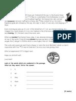 Units 26-29 Holidays Paper 2