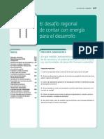 Desafío de contar con energía para el desarrollo (Cap11, Estado de la Región, Centroamerica)