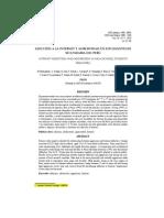 (Articulo en Español) (2013) Adicción a La Internet y Agresividad en Estudiantrd de Secundaria Del Perú