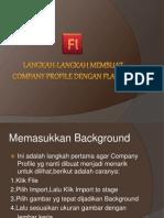 Langkah-Langkah Membuat Company Profile Dengan Flash