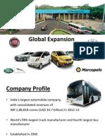 TATA Motors Global Expansion