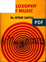 Philsophy of Music - Dr. Ritwik Sanyal